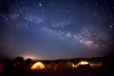 敦煌探路者户外沙漠露营基地