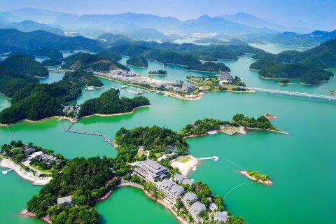 千岛湖温馨岛蝶来湖景度假酒店